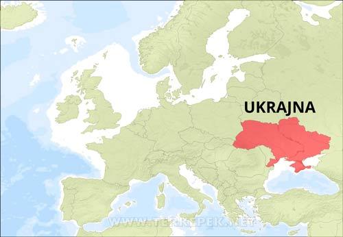 Ukrajna Terkepek